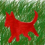 Roter Schäferhund