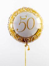 Goldhochzeit Folienballon