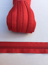 Spiraal rits 5mm-rood