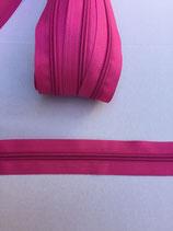 Spiraal rits 5mm-roze