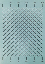"""SCL-601-10 Measured Grid 1"""" [10""""x12""""]"""