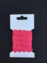Zigzagband 5mm- karmijn roze (27)
