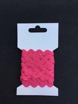 Zigzagband 5mm- karmijn rozee (28)