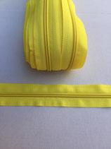Spiraal rits 5mm -geel