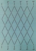 """SCL-605-10 Measured Diamonds 2"""" [10""""x12""""]"""