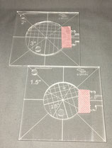Cirkel -set 1,5'' en 2''