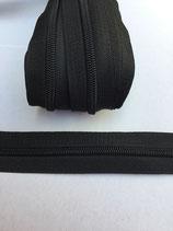 Spiraal rits 5mm-zwart