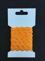Zigzagband 5mm- licht oranje