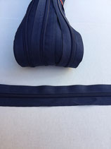 Spiraal rits 5mm-donker blauw