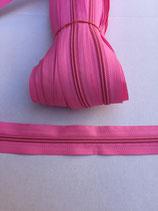 Spiraal rits 5mm- licht roze