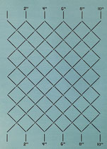 """SCL-602-10 Measured Grid 2"""" [10""""x12""""]"""