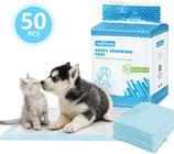 100/50 x Ultra saugfähige Hunde Trainingsunterlagen