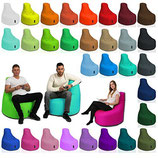 BuBiBag Gamer Kissen Lounge Sitzsack Sessel Original Sitzkissen