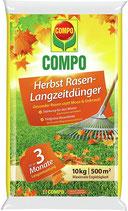 COMPO Herbst-Rasen Langzeit-Dünger, 3 Monate