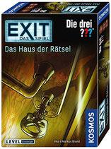 Kosmos Spiele 694043 Exit - Spiel: Drei ??? - Haus Rätsel Brettspiel