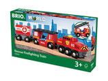Brio World 33844 Feuerwehr Löschzug
