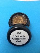 FG UV Lack gold/fein