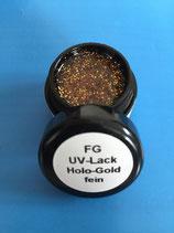 FG UV Lack Holo-Gold-fein