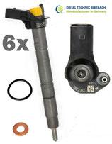 6x Einspritzdüse Injektor 059130277BE / 059130277AR