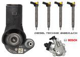 4 x Injektor Einspritzdüse 0445116030 + Hochdruckpumpe NEU 03L130755