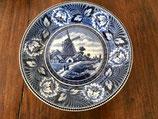 blauw bord met molen