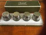 Christofle zout-en peperpotjes in originele doos