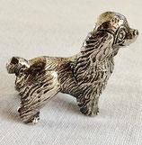miniatuur verzilverde spaniël