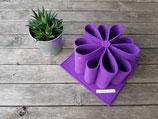 Schreibtisch-Organizer aus Filz lila
