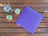 1 Sitzkissen in lila 2lagig wendbar
