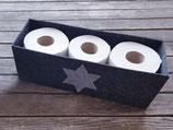 Toilettenpapieraufbewahrung mit Stern einzeln
