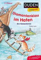 Fabian Lenk - Diamantenklau im Hafen ~ Ein Katzenkrimi