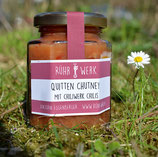 Quitten Chutney mit Chiliwerk-Chilis