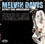 """MELVIN DAVIS  7"""" - Single de vinilo"""