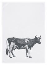 17;30 Geschirrtuch Baumwolle Kuh