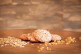 Weiße Mandellebkuchen 6 Stk./kleine Oblate