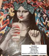 Wandbild Pop Art Modern Monalisa