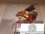 Wandbild Pop Art Mordern Klavier/Flügel