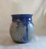 Vase 2 bleu