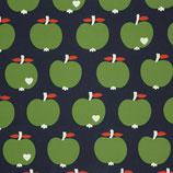 Canvas ByGraziela Äpfel - dunkelblau/grün