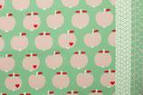 Canvas ByGraziela - Äpfel - mint/rose