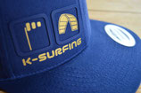 KITE-SURFING BLUE/gold