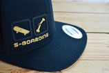 SKATE-BOARDING BLACK/gold