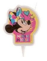 Bougie d'anniversaire Minnie™7,5 cm