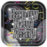 assiette nouvel an