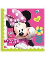 20 Serviettes 33x33cm Minnie Happy