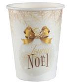 Gobelet boule Noel/10