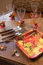 Assiette automne/10
