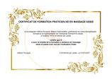 Evaluation corrective en vue de l'obtention du certificat de Praticien en Massage Assis (Optionnel)