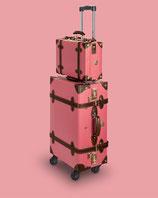 Kofferset Cabin Size 55cm rosa