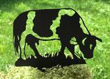 Art.Nr.: 6074ST - Pflanzenstecker Kuh gefleckt